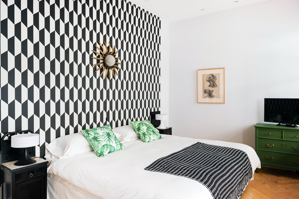 In Madrid, Gutsy Design Wakes Up a Century-Old Pied-à-Terre, Design*Sponge
