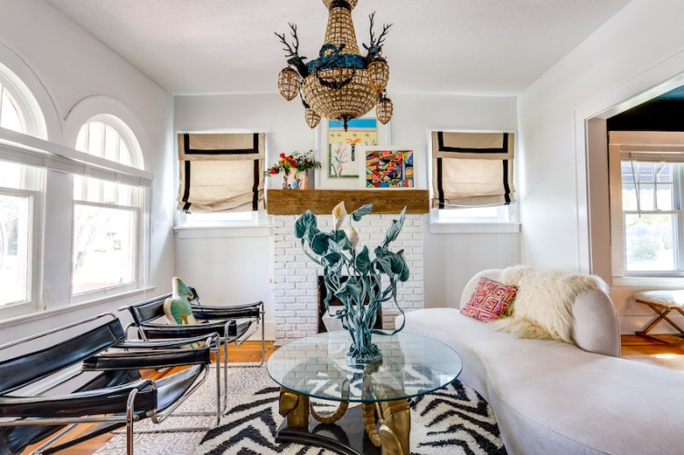 Fun and Fearless Personality in a Century-Old Jacksonville Home   Design*Sponge