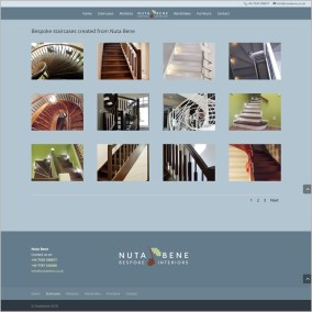 Nuta Bene website gallery