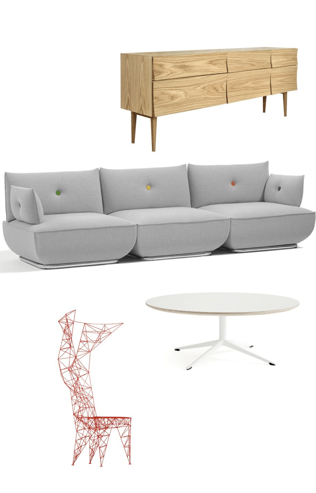 Sweet Home: Playful Living Room