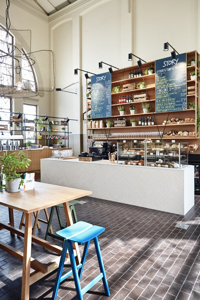 #Restaurant Story, Old Market Hall / Design - Joanna Laajisto / Photo | Design Studio 210