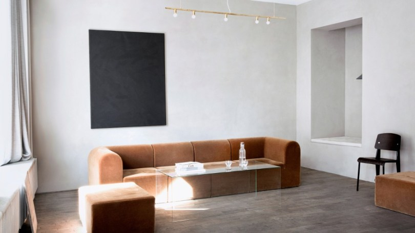 Kinfolk office design seating area by Norm Architects via Design Studio 210