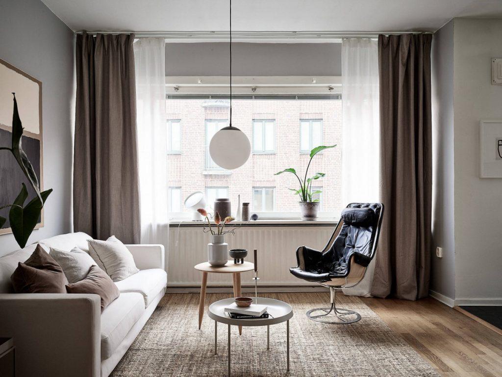 Earthy Toned Scandinavian Apartment Design Studio 210