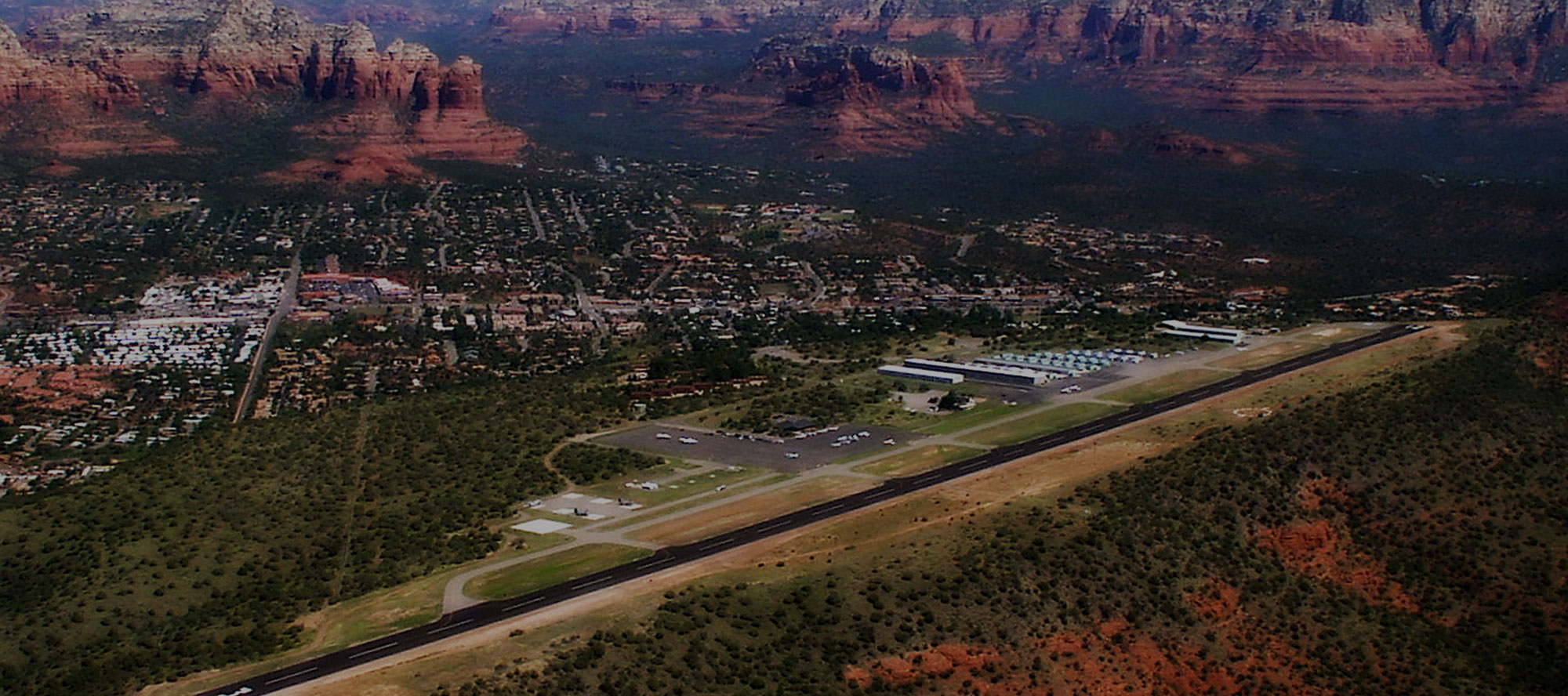 Sedona Airport - CLICK to go to the Airport Official Page Home