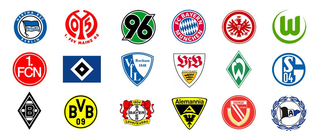 die fussball bundesliga logo tabelle