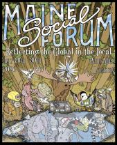 Maine Social Forum poster