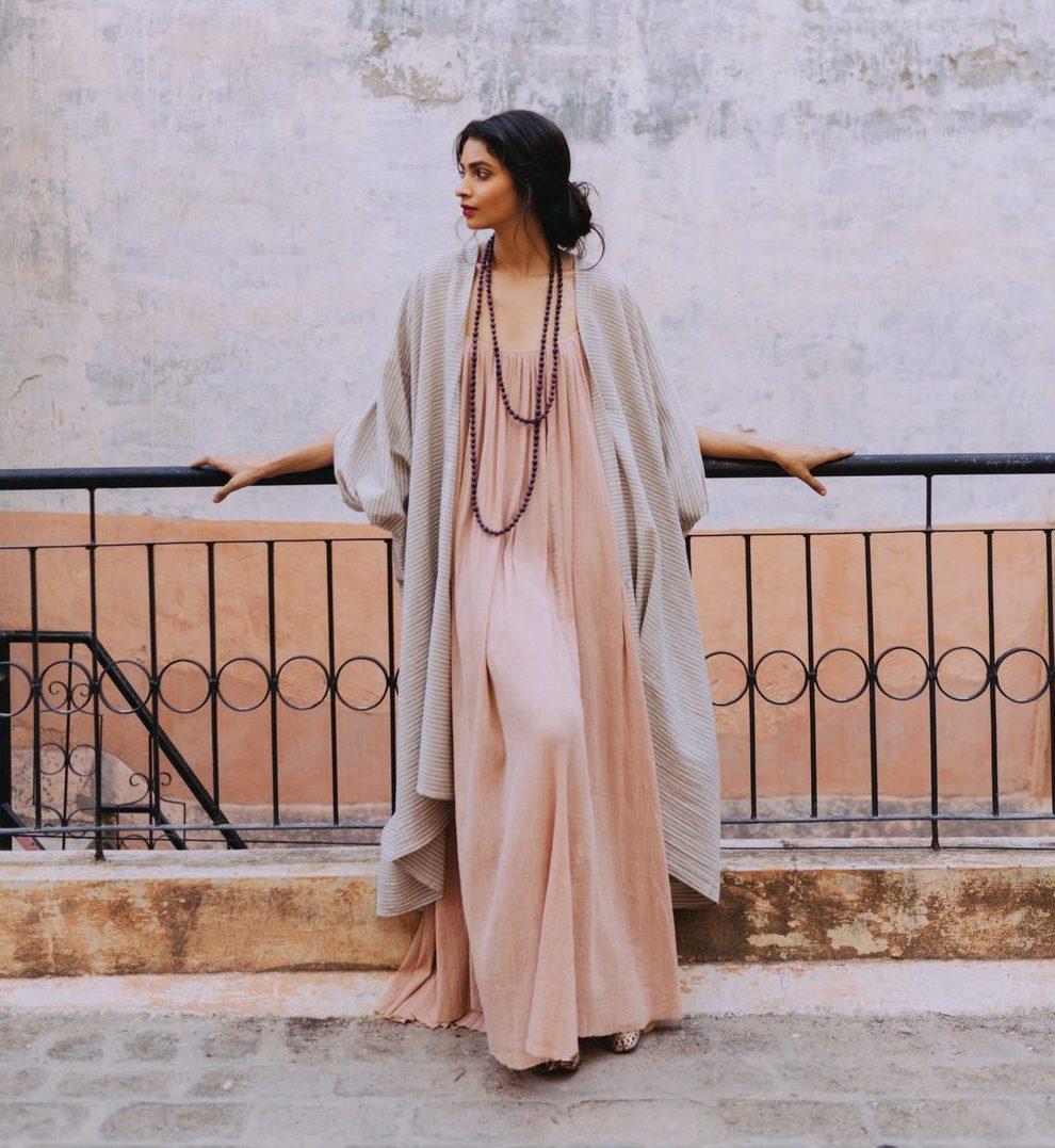 Khadi Cotton Robe