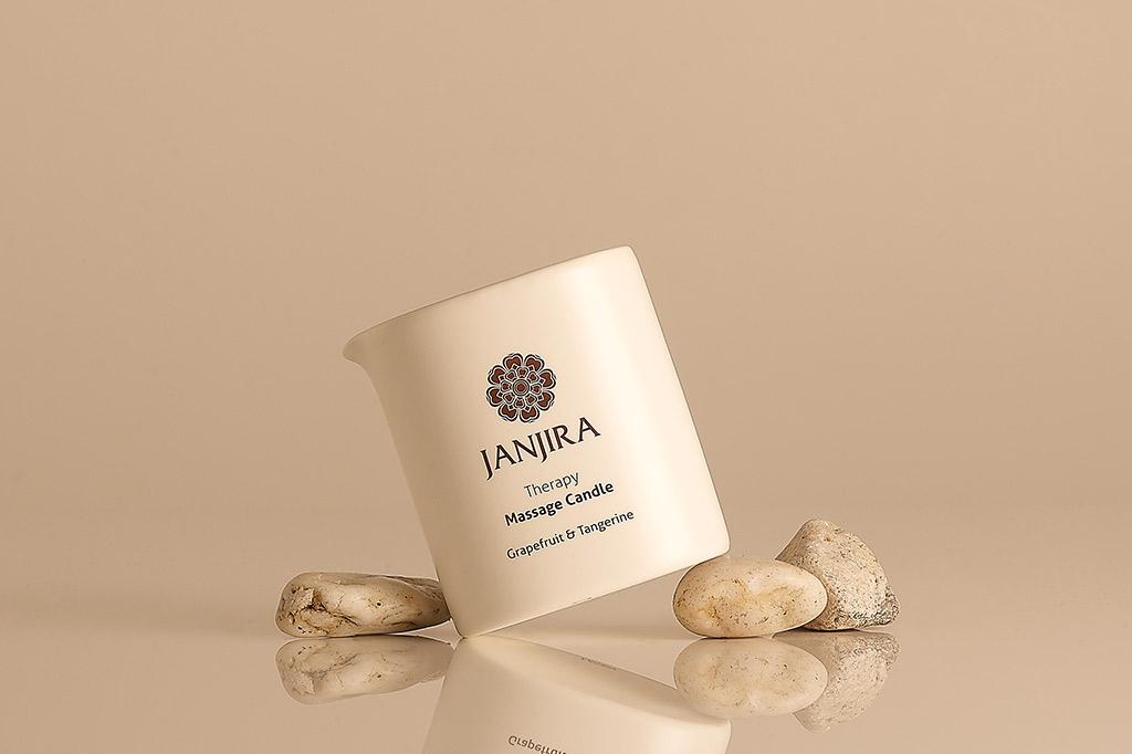 Janjira Grapefruit & Tangerine Massage Candle