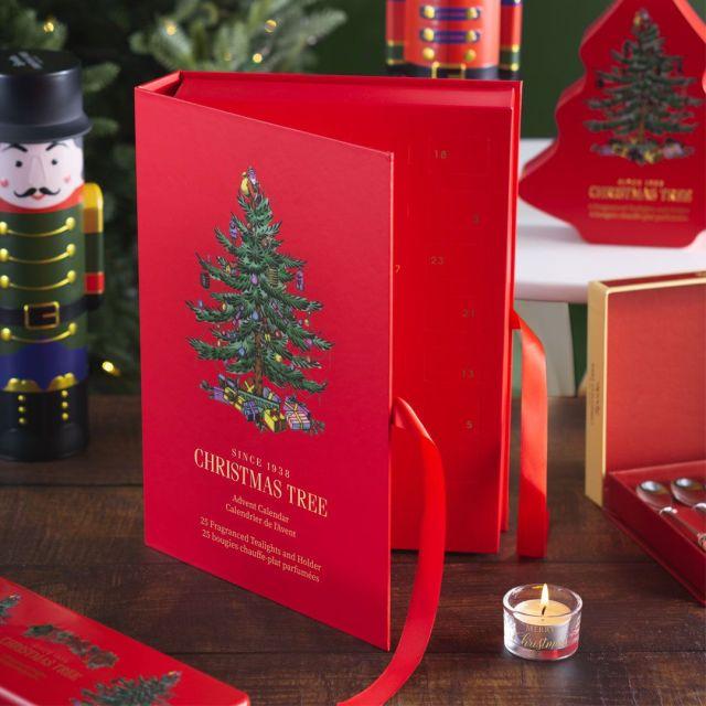 Spode Christmas Tree Advent Calendar