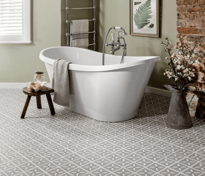 What's the best and worst flooring for bathrooms?