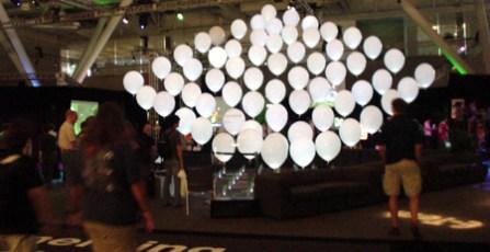 siggraph entrance ballons  boston 2006