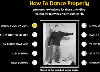 How to dance properly, Ze Frank