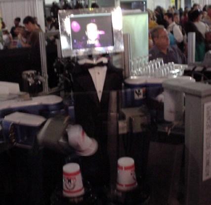 robotic bartender