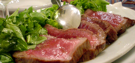 Florence i due G charred steak
