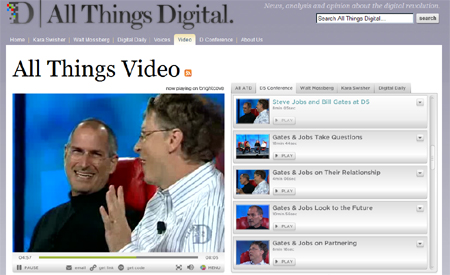 all things digital d5 conference bill gates steve jobs