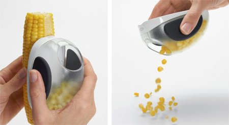oxo corn stripper collector toda design