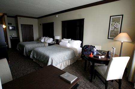 GM test drive detroit rooms Inn hotel st johns