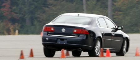 GM test drive detroit ESC Electronic Stability Control Test