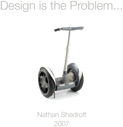 Design is the problem nathan shedroff