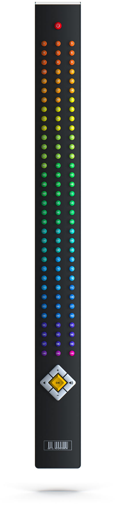 pultius remote control art.lebedev