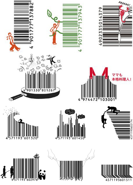 d.barcodes. creative barcodes