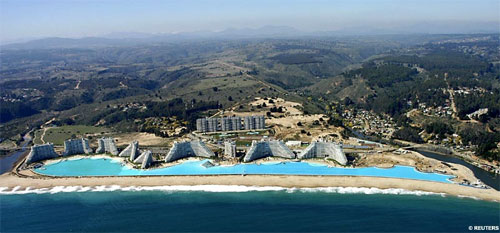 World�s Largest Pool At San Alfonso Del Mar Resort In Chile