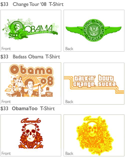 Barak Obama is the man t-shirts