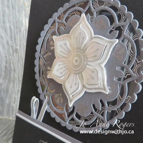 make dimensional cards with stickers and die cuts
