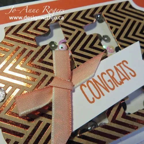 how to craft greeting cards with foil paper