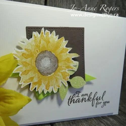 Make a Perfect Sunflower Card