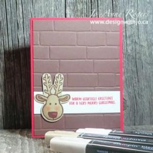 blends make cute cards even cuter