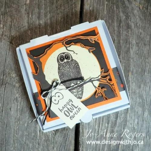 DIY cutest Hallowe'en notecards set
