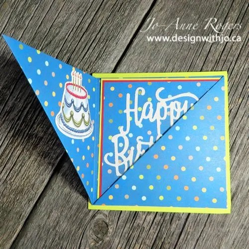 Why i love fancy fold birthday cards design with jo why i love fancy fold birthday cards bookmarktalkfo Gallery