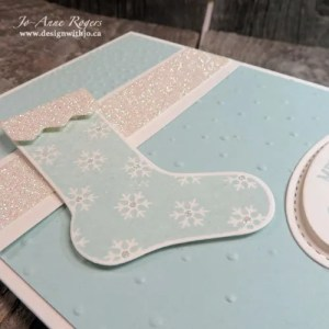 why I love handmade non-traditional coloured Christmas cards