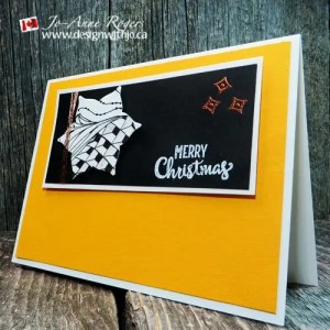 zentangle stampin up Christmas cards