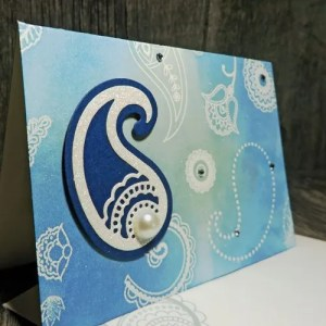 handmade rubber stamped cards