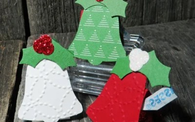Make Cute Table Favours for Christmas