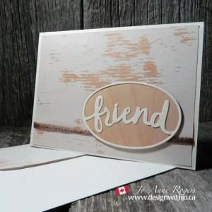 make a masculine friend card