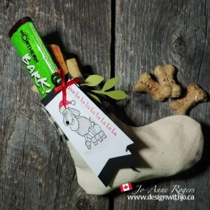 make a treat stocking for dogs