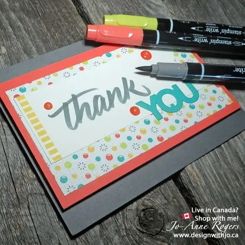 learn brush marker lettering with stampin write markers2 design
