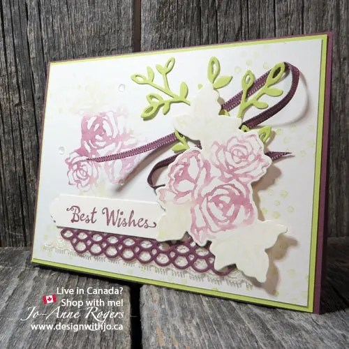 how stampin write markers watercolour cards beautifully