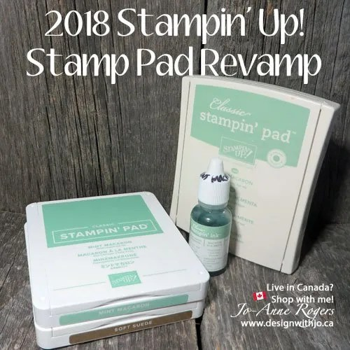 2018 Stampin Up Stamp Pad