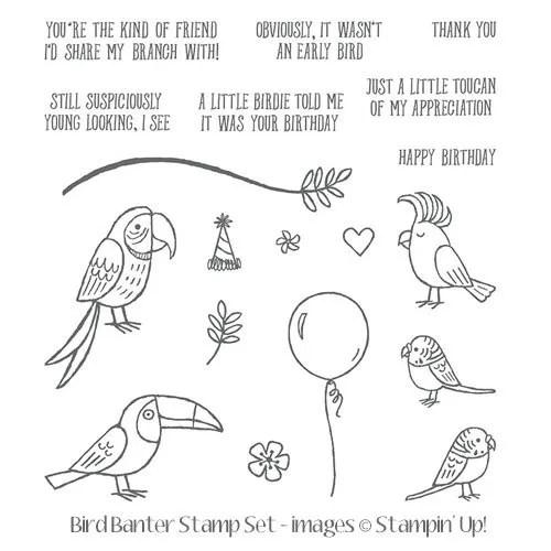 painting watercolour pencils bird banter card