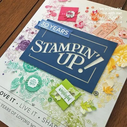 why I love the 2018 stamping up colour revamp
