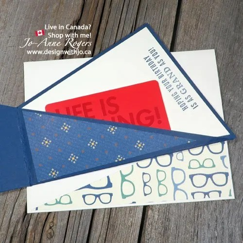 make a twist fold gift card for fathers day this year