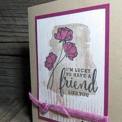 a special birthday share what you Love card