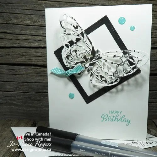 want to know how to make zentangle cards with detailed thinlits