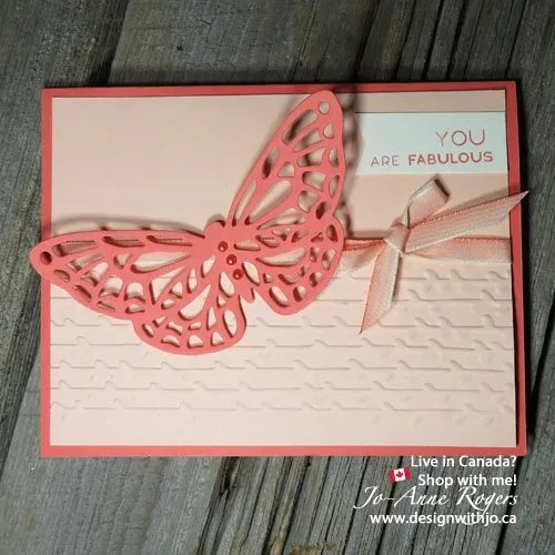 springtime impressions stampin up butterfly card