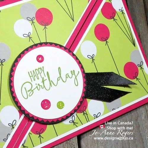 Happy Birthday Right Angle Fold Gift Card Holder