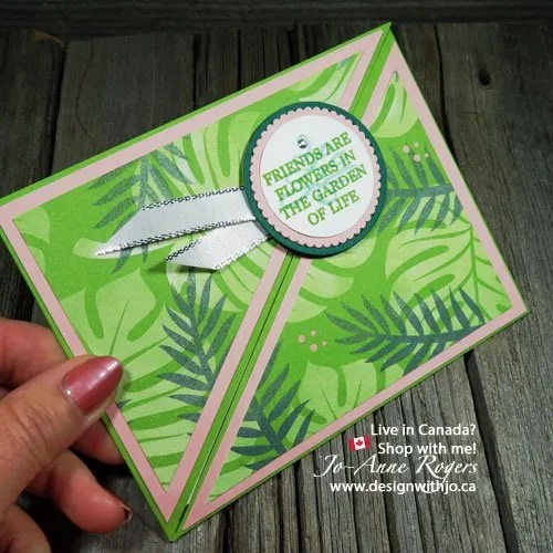 Tropical Escape Gift Card Holder Idea